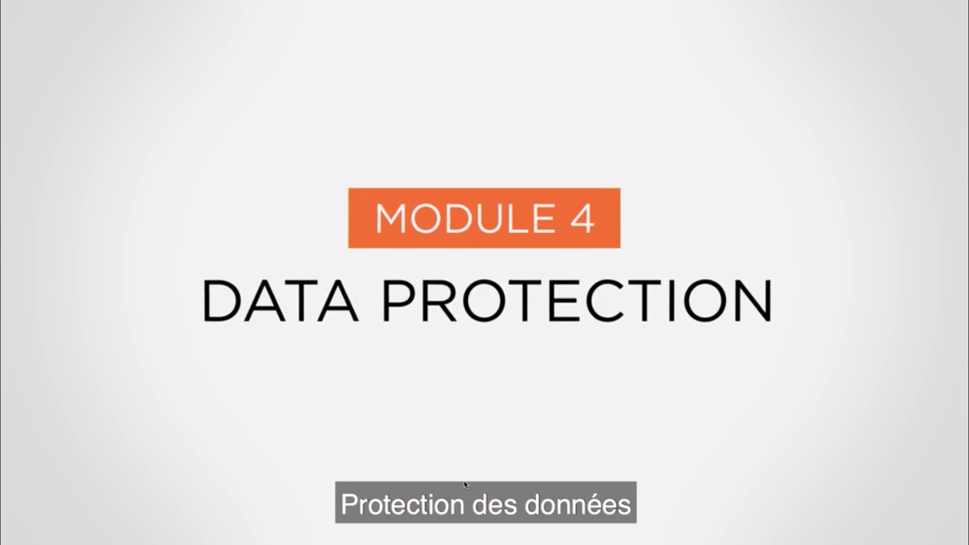 Module 4 - Data Protection-1